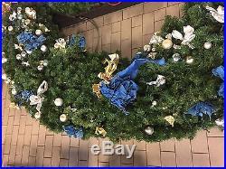 Autograph Foliages 10 Ft Pre-Lit Wreath C-100920