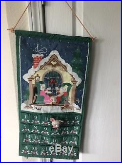 Avon Advent Calendar With Mouse Vintage Countdown To Christmas 1987