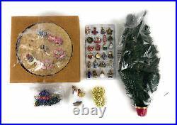 Avon Christmas Is Coming Rotating Advent Calendar Musical Tree 1996 Ornaments