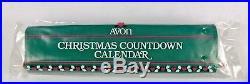 Avon Countdown To Christmas Advent Calendar Still in Plastic Vintage 1987