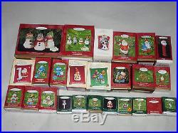 Boxed Ornament Lot Hallmark Husky Frosty Friends Jingle Kringle Mr Potato Head