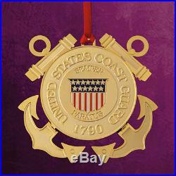 Baldwin Brass/Chemart United States Coast Guard Ornament #29281