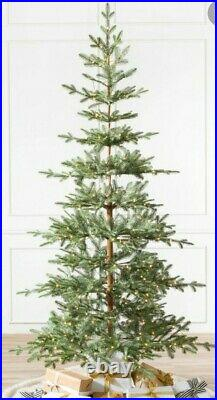 Balsam Hill Alpine Balsam Fir Tree 7.5 Lit New In Box
