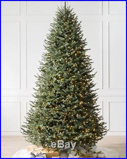 Balsam Hill BH Balsam Fir 7′ ft Full 56 Color + Clear with Easy Plug New
