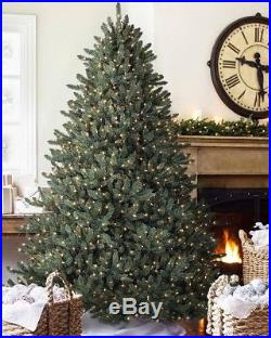 Balsam Hill Classic Blue Spruce 6.5Ft, Full 53, CLEAR LIGHT
