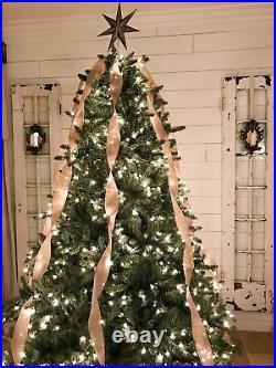 Balsam Hill Classic Blue Spruce 6.5 Feet Christmas Tree Clear