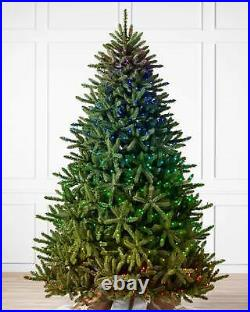 Balsam Hill Classic Blue Spruce 7.5 Ft Christmas Tree Clear