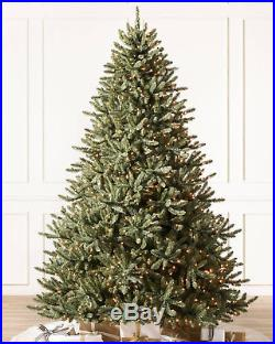 Balsam Hill Classic Blue Spruce Artificial Christmas Tree 6.5′ Clear