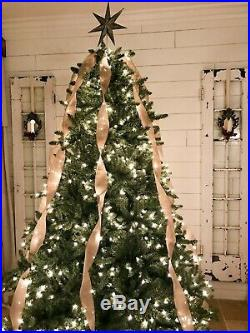 Balsam Hill Classic Blue Spruce Artificial Christmas Tree 9 Ft Clear