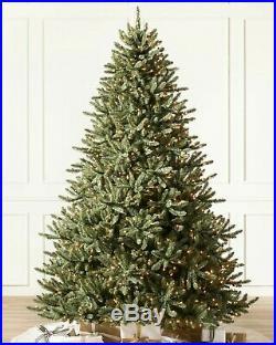 Balsam Hill Classic Blue Spruce Artificial Christmas Tree 9 Ft unlit no light