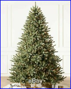 Balsam Hill Classic Blue Spruce Christmas Tree 6.5 Ft Candlelight Clear LED