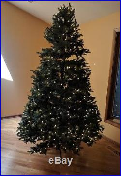 Balsam Hill Fir Pre-lit LED Artificial Christmas Tree, 7.5 Feet Tall