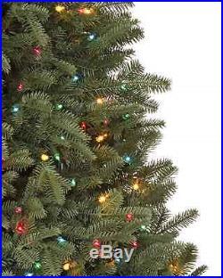 Balsam Hill Fraser Fir Christmas Tree LED Pre-Lit Multicolor 7 1/2 ft