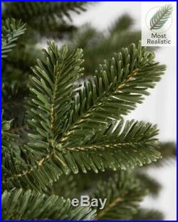 Balsam Hill Fraser Fir Narrow Tree 7.5×52 with Clear Light