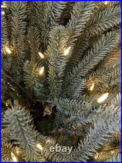 Balsam Hill Sanibel Spruce 7′ Tree with Candlelight LED Lights Tree and Stand ONLY