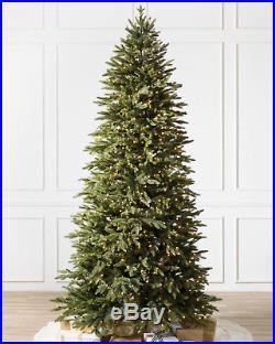 Balsam Hill Silverado Slim Flip Tree 7′ Ft Slim 45 Clear with Easy Plug