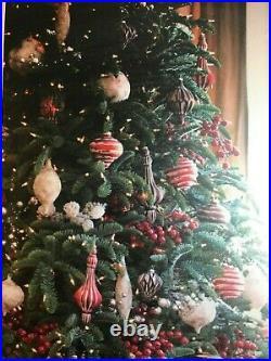 Balsum Hill 8′ Noble Fir Christmas Tree LED Lighting still in box
