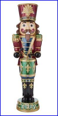Beautiful 6ft Christmas Nutcracker Soldier With 34 LED Lights Indoor/Outdoor