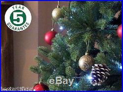 Best Artificial Premium 2,1 M/210cm Klappbar Weihnachtsbaum Für Drinnen Echt