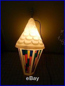 Blowmold Municipal Christmas Street Lantern Commercial Decoration