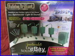 Bluetooth Christmas Holiday Spectacular Light & Sound Show Outdoor Display VIDEO