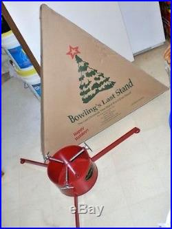 Bowling's Last Stand 10 Christmas Tree Stand 10XTS SOLID STEEL HEAVY USA MADE