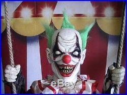 Brand New Animated Swinging Chuckles Halloween Prop