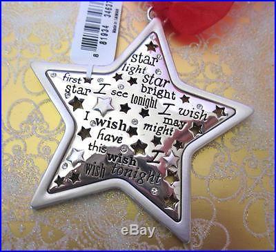Brighton TWINKLE STAR Christmas Ornament NWT