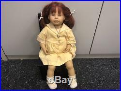 Brigitte Paetsch Vinyl Puppe 55 cm. Top Zustand