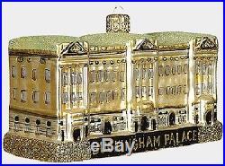 Buckingham Palace London England Polish Glass Christmas Ornament Decoration New