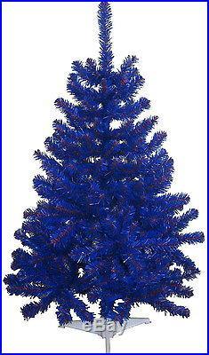 Buffalo Bills Blue & Red 6FT Christmas Team Colored Tree NFL Sports Team Tree