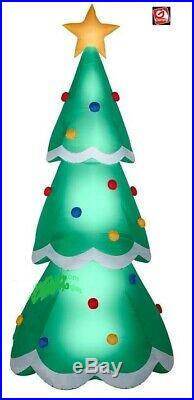 CHRISTMAS 14 ft HUGE TREE GEMMY Airblown Inflatable yard decoration