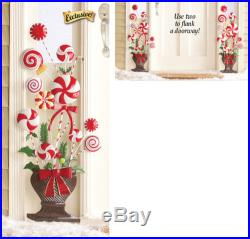 CHRISTMAS CANDY CANE HOLIDAY TOPIARY INDOOR/OUTDOOR DECOR NEW ZW