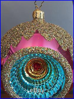 Christopher Radko Brilliantines 3 Reflector Ornament