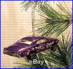 Chinese Dragon 1967 PONTIAC GTO CHRISTMAS ORNAMENT Purple rare XMAS