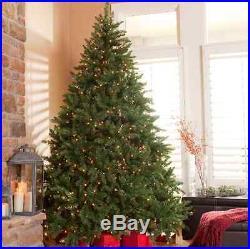 Chirstimas Tree Holiday Classic Pine Full Pre lit Christmas Tree 6.5 Feet New