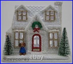 Christmas 2018 Bath Body Works Holiday House Glitter Cottage Luminary NIB