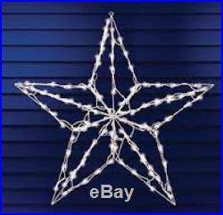 Christmas 3 1/2 FEET STAR Outdoor Indoor 100 Lights Nativity Light Yard