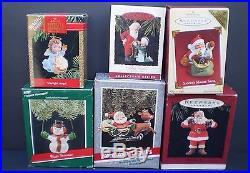 Christmas 6 Hallmark Keepsake Ornaments in Boxes