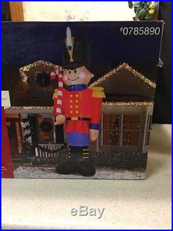 Christmas Airblown Inflatable 16 Ft Toy Soldier Nutcracker