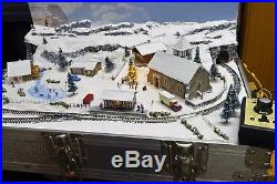 Christmas Briefcase Layout 2017 By Mountain Lake Model Railways