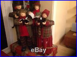 Christmas Carol Singers (large figures 90cm)