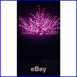Christmas Cherry Blossom Tree Outdoor Xmas Lighting Decor 600 LED Lights 7 FT