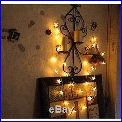 Christmas Curtain Lights Warm White Xmas Party Birthday Wedding Decoration
