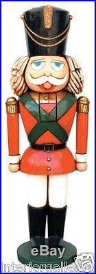 Christmas Decor Nutcracker Statue Christmas Decor Life Size 6 FT