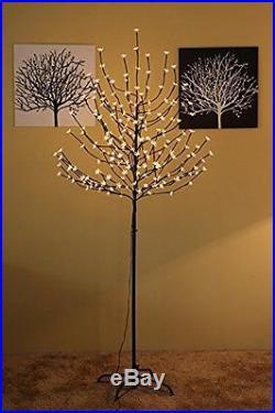 Christmas Decor Party Ornament Warm White LED Xmas Tree Artificial Decoration