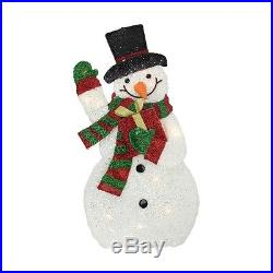 Christmas Decoration Snowman Light Gift Indoor Outdoor Holiday Winter Festive