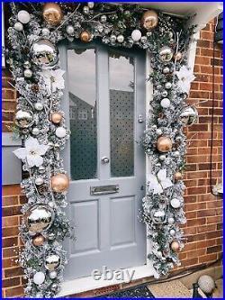 Christmas Door Arch Garland Wreath Decorations