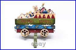 Christmas Express Toy Train Toy Car Caboose Stocking Holder Hanger RARE HTF