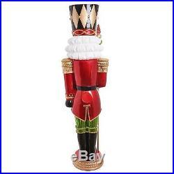 Christmas Grand Nutcracker Life Size 6 Ft Led Lighted Pre-lit Decoration Decor